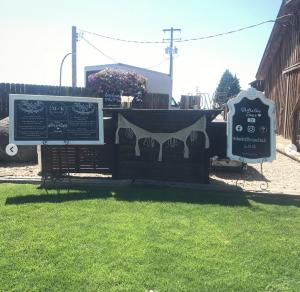 Raising Our Bar Outdoor Setup